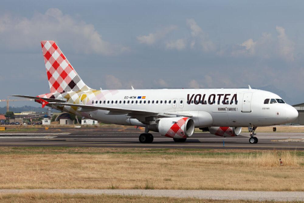 Volotea Airbus A319 Verona