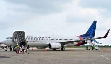 Sriwijaya Air 737 Getty