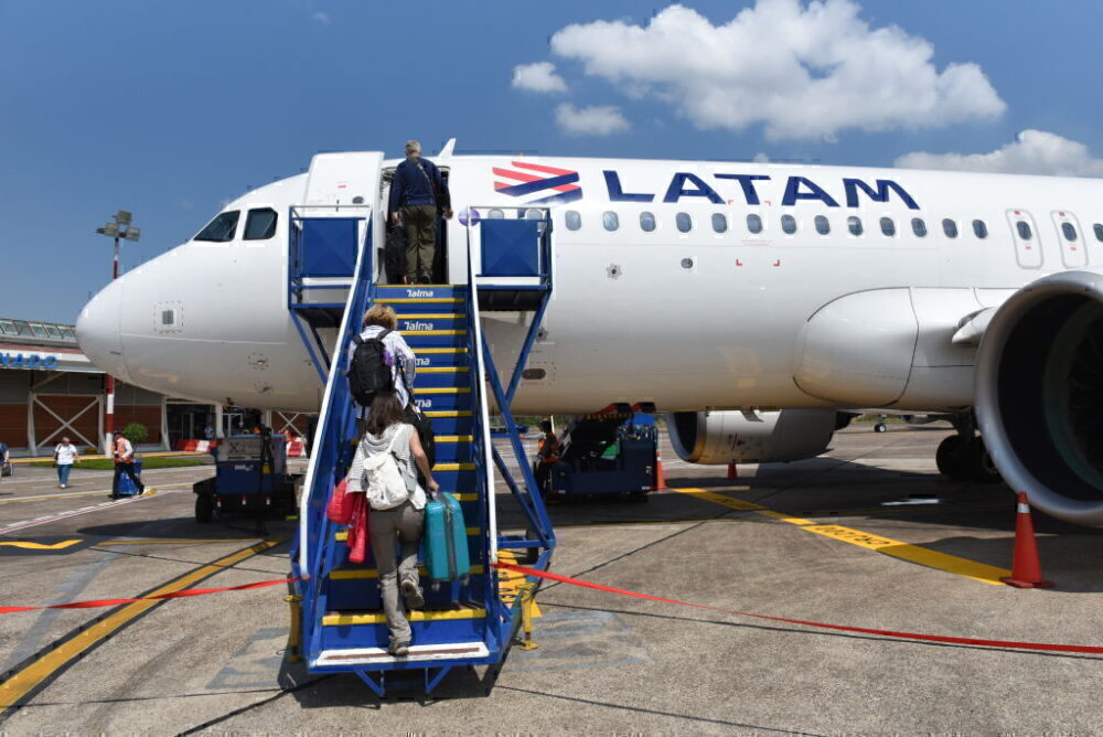LATAM Airbus A320 Getty