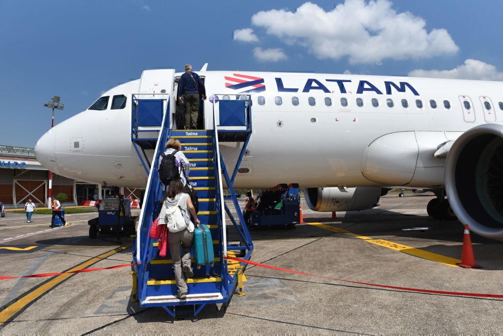 LATAM Airbus A320 Getty