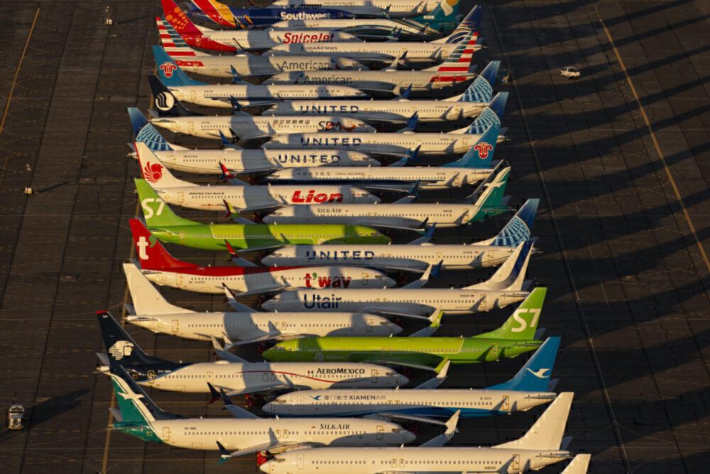 737 MAXs Parked