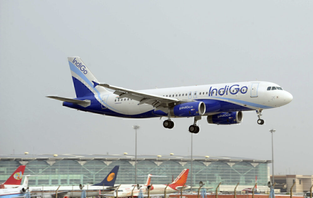 IndiGo A320 Getty