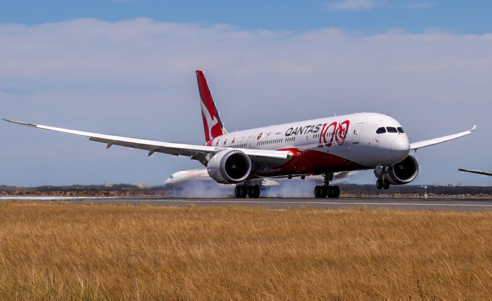 Qantas Completes 'Project Sunrise' Research Flight From London To Sydney