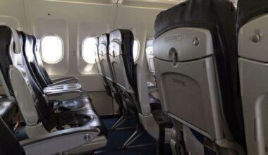 Plane cabin windows Getty