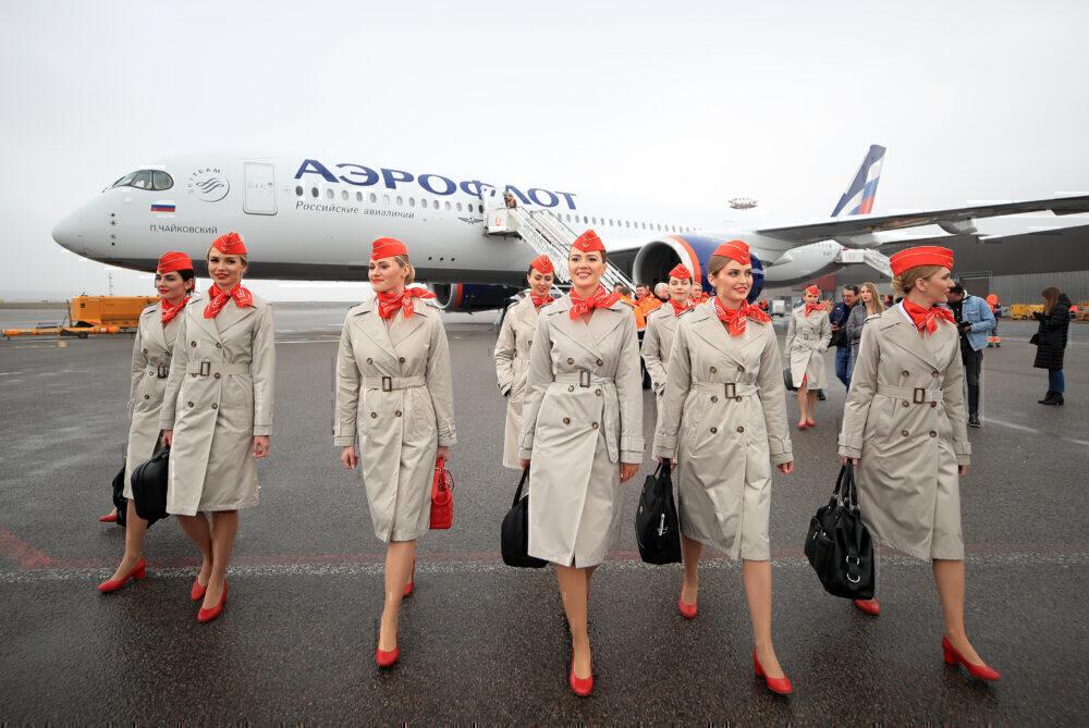 Aeroflot A350 getty