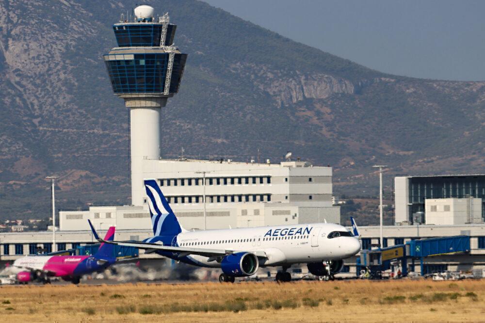 Athens Airport Aegean