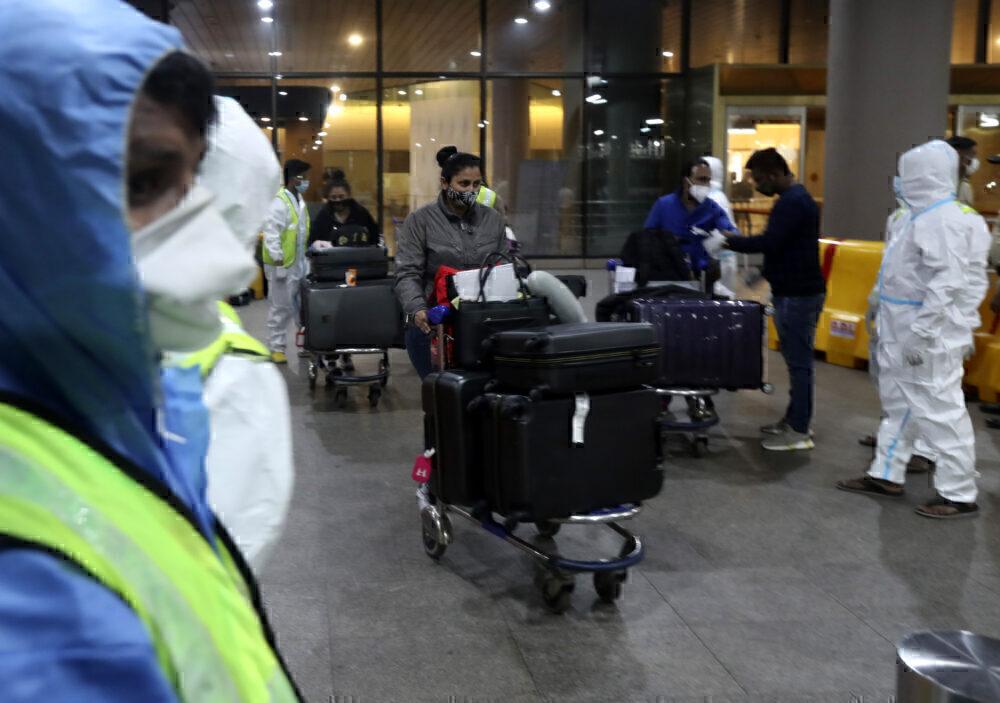 Mumbai Airport UK Travelers Quarantine