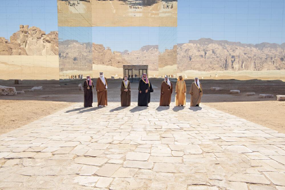 Ending of middle east blockade, signed in saudi arabia
