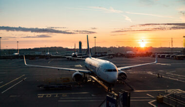 Stansted Airport Sunrise