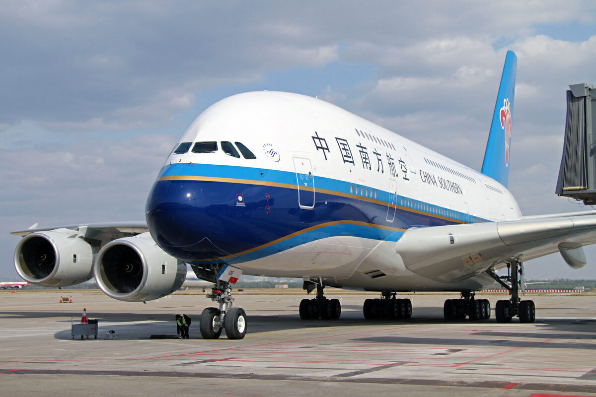 China Southern Isn't Sure About The Future Of The Airbus A380