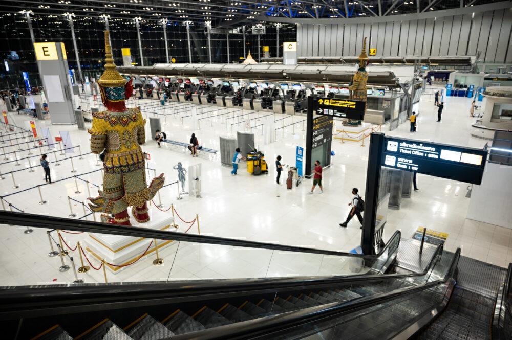 Bangkok Airport Getty