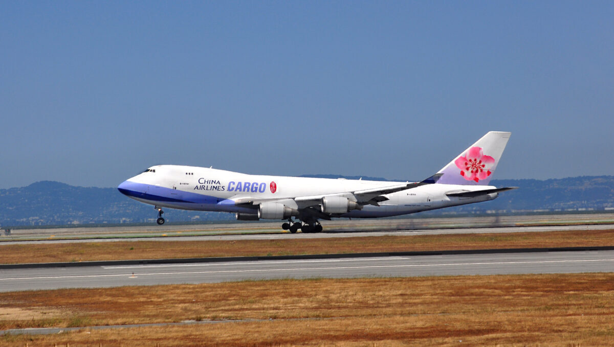 China Airlines 747 cargo getty