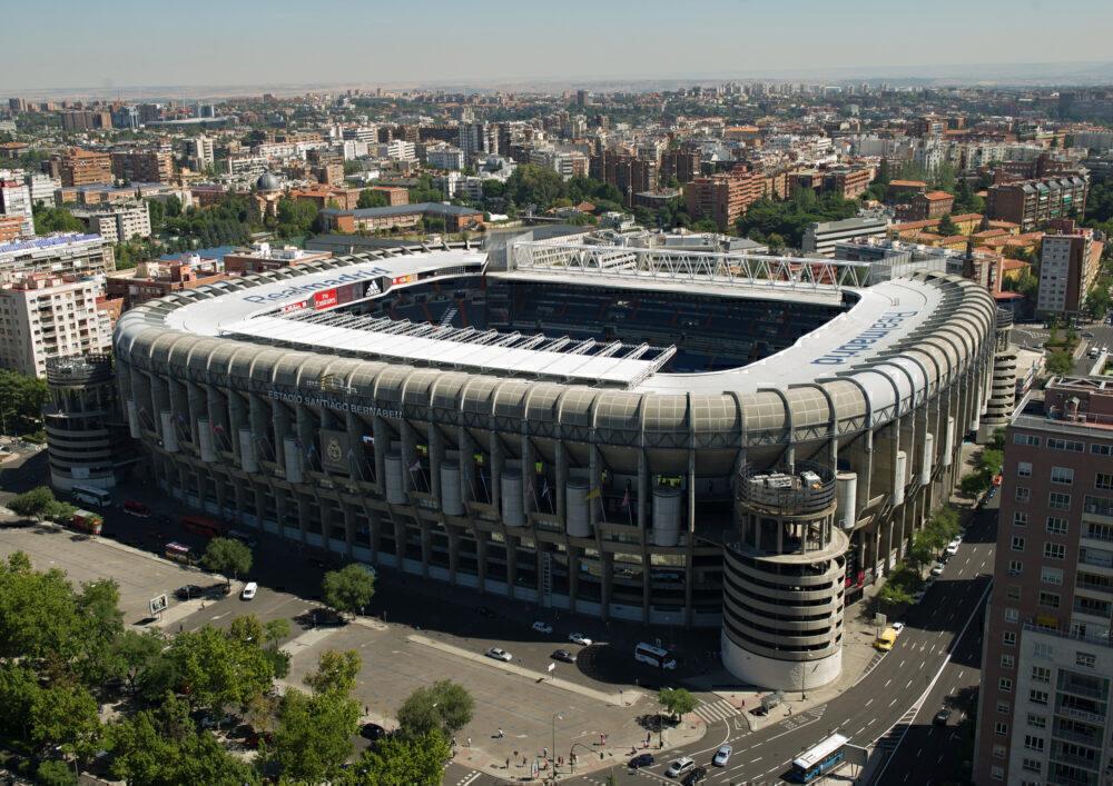 Real Madrid Stadium Getty