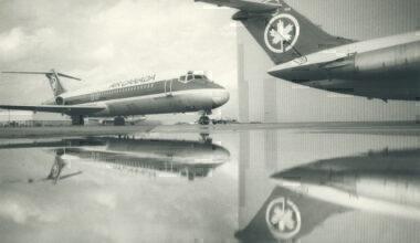 AIr Canada 1987 Aircraft