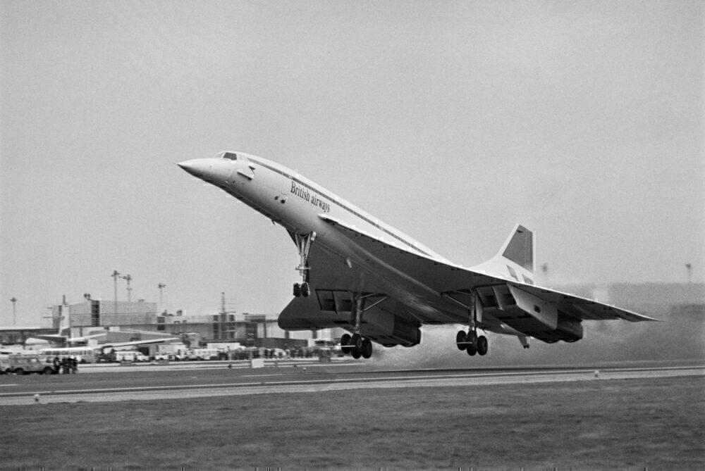 British Airways Concorde Taking Off