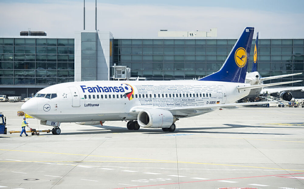 Lufthansa Boeing 737 Getty