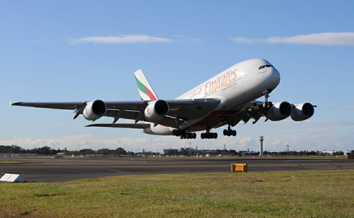 Emirates a380 Australia