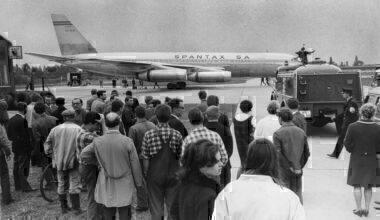 Spantax aircraft