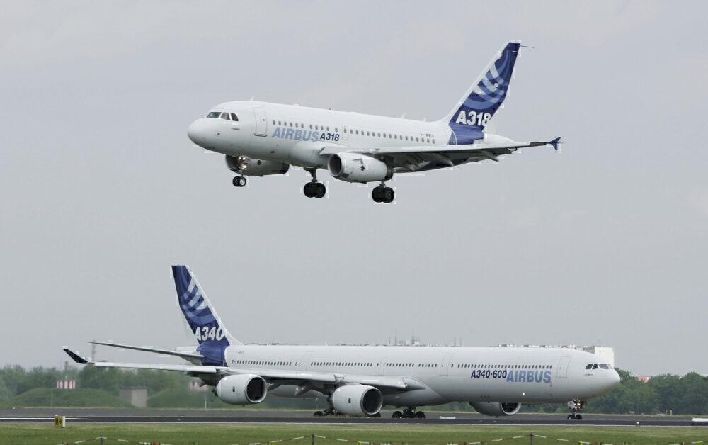 A318 A340