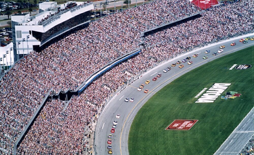 2000 Daytona 500 From The Air Getty