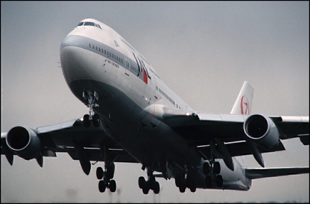 Boeing 747-700 Japan Airlines