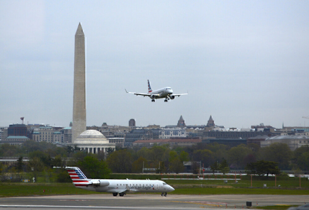 Ronald Reagan Washington National Airport American Airlines