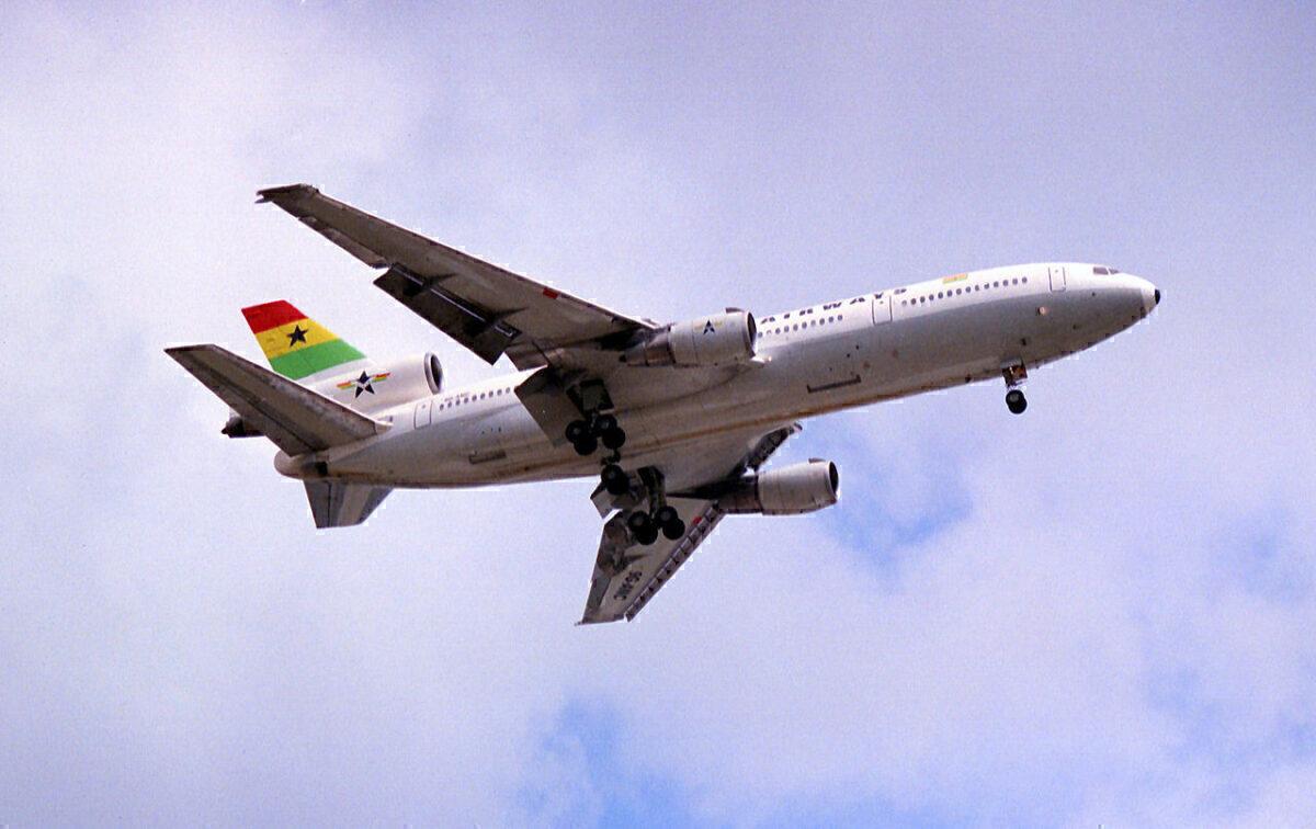 Ghana Airways DC10-30 9G-ANC