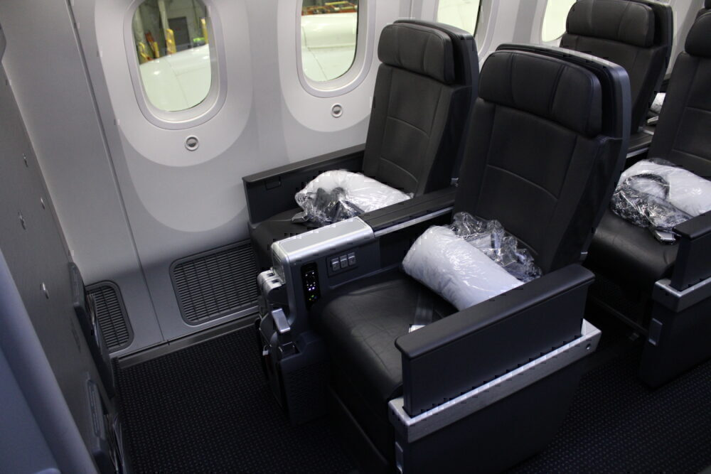 Window pair of seats