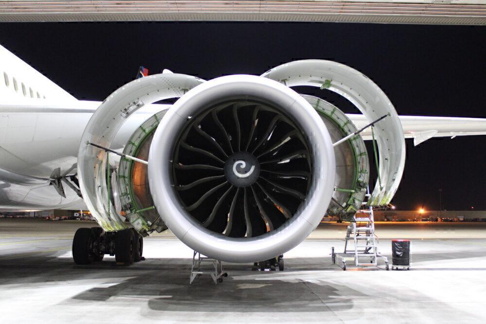 Engine open
