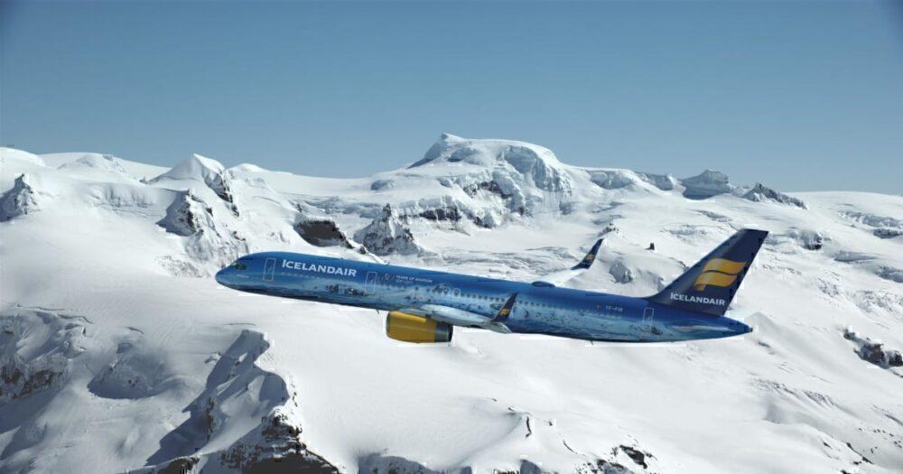 Icelandair Snow