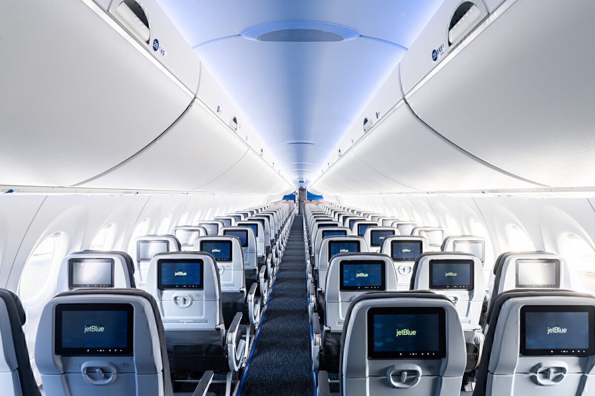 JetBlue, Airbus A220, Cabin Reveal