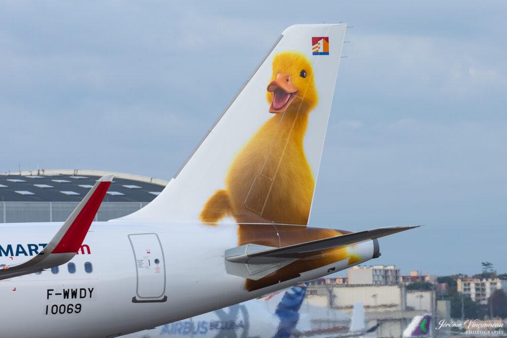 JetSmart A320neo duck