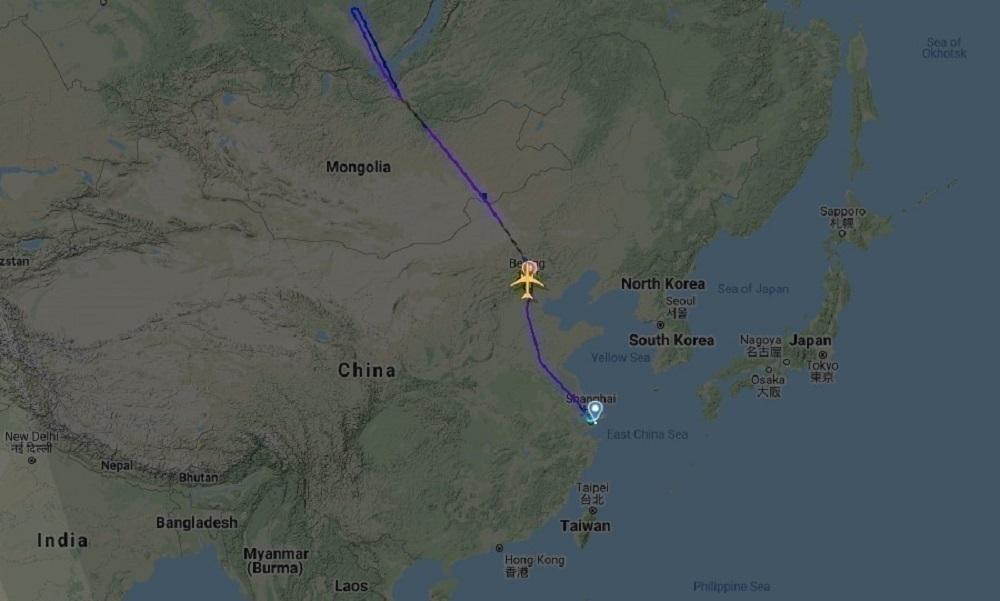 KL896 Flightpath 31Dec2020