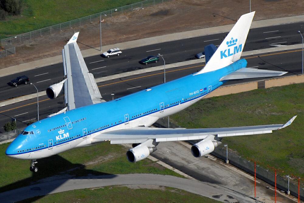 KLM 747-400M