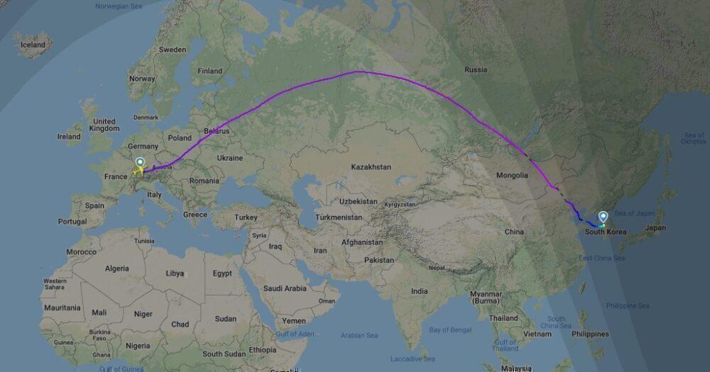 LX2796 Flightpath 15Jan2021
