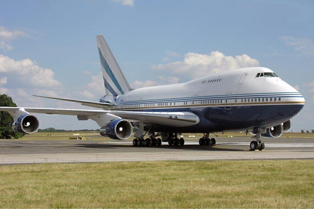 Las Vegas Sands Boeing 747SP Berlin