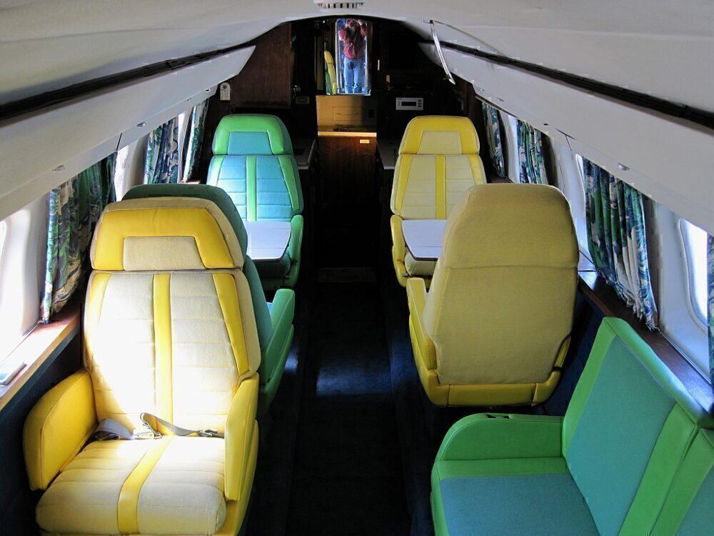 "Lockheed Jet Star ""Hound Dog II"" Interior"