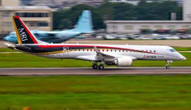 Mistubishi MRJ Ram Air Turbine Test
