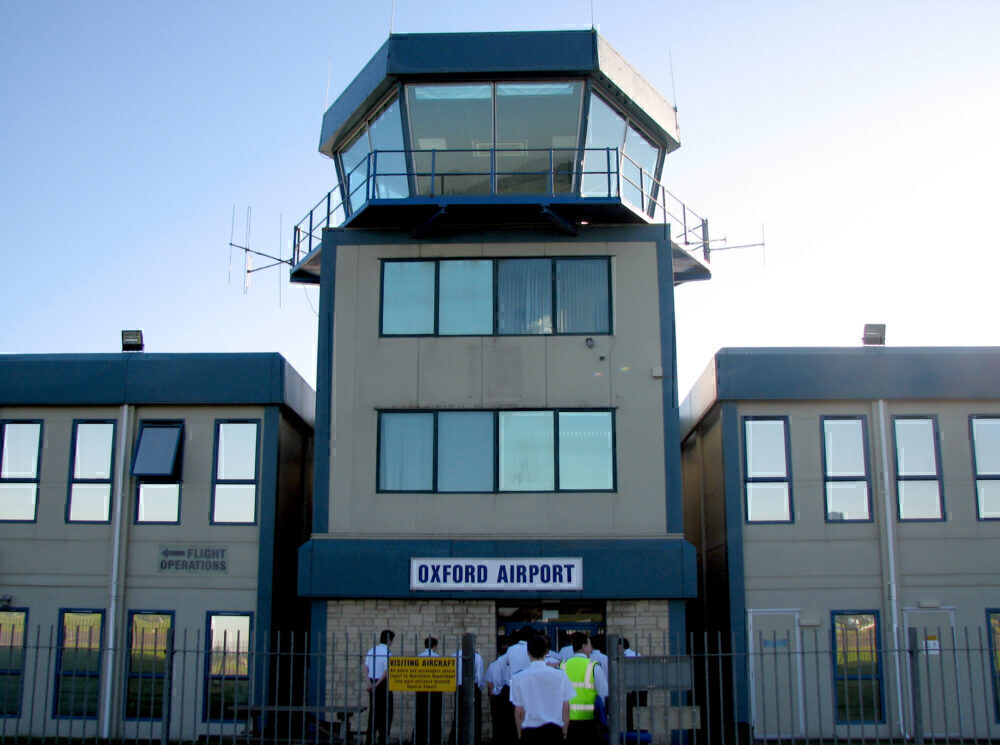 London Oxford Airport ATC Tower