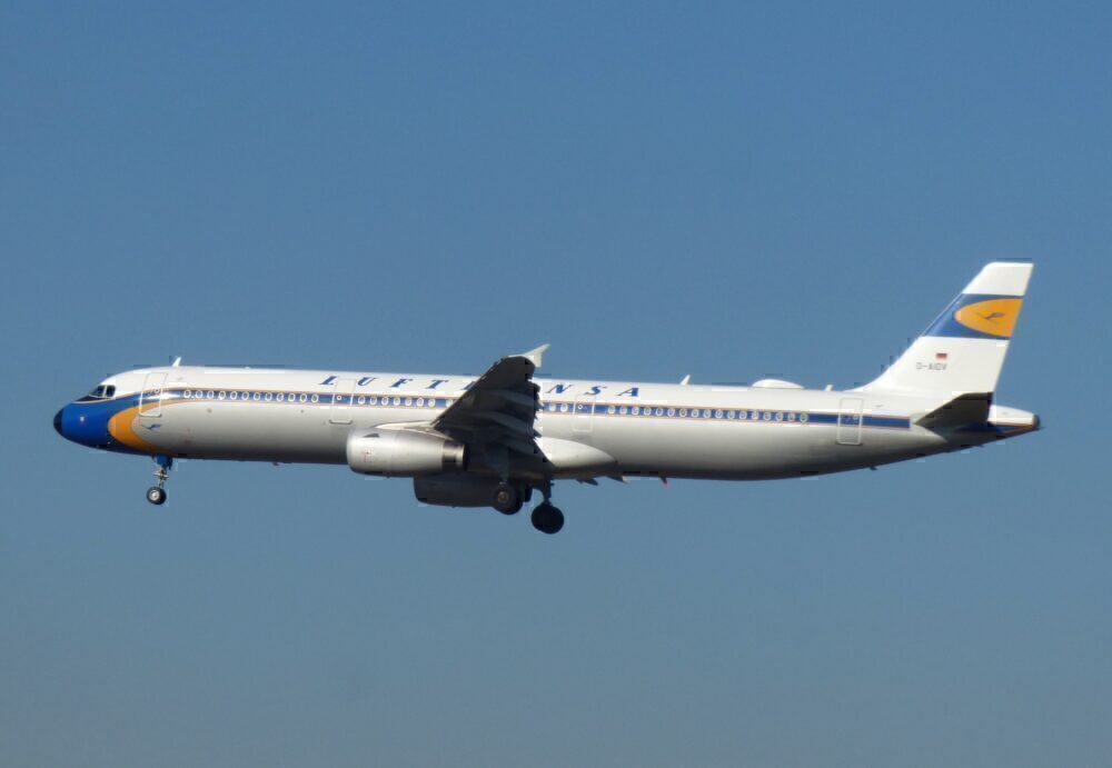 Lufthansa Airbus A321 Retro Livery Frankfurt