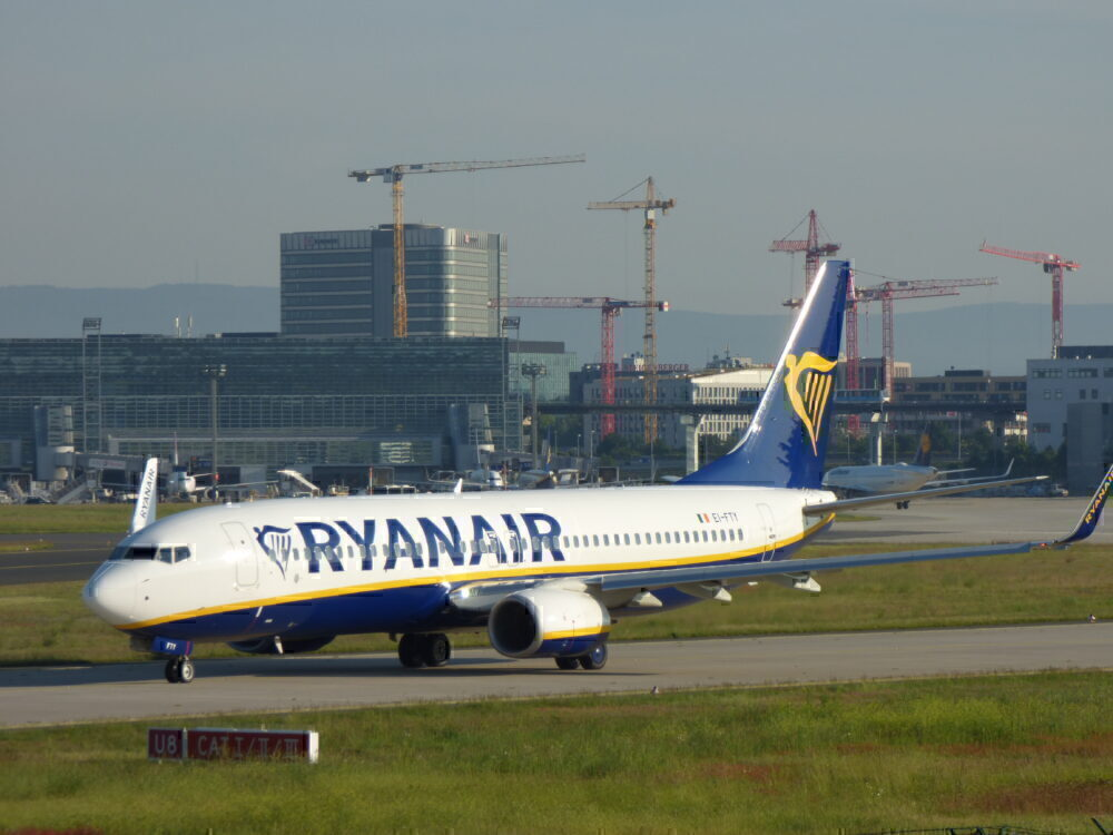 Ryanair 737 Frankfurt