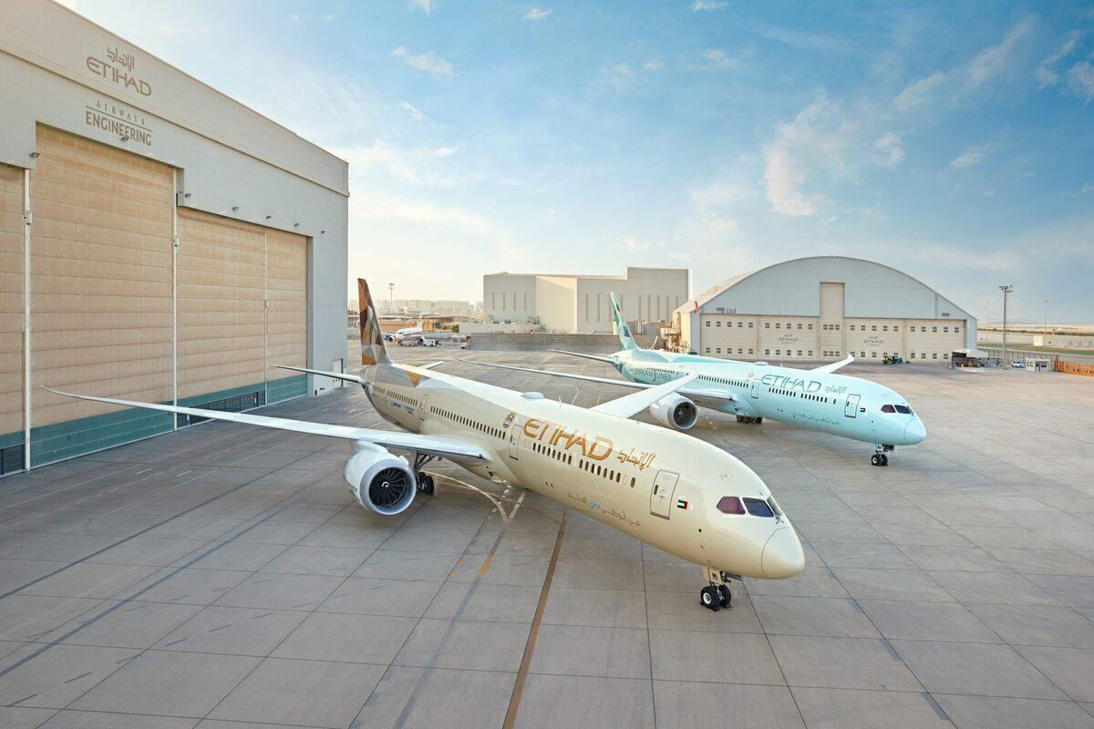 Etihad Airways, Carbon Offset, Boeing 787-10