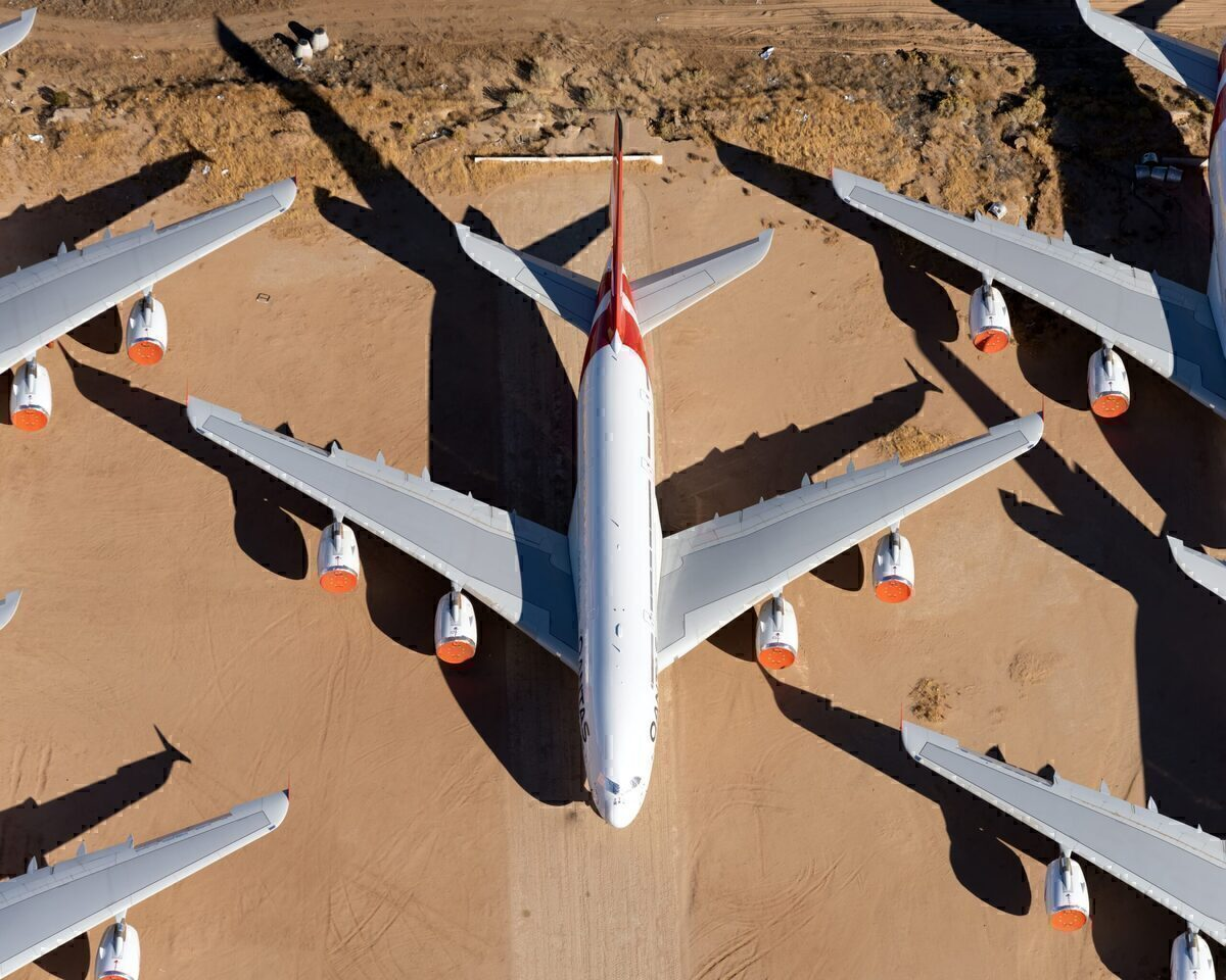 Airbus A380, Airlines, Stored