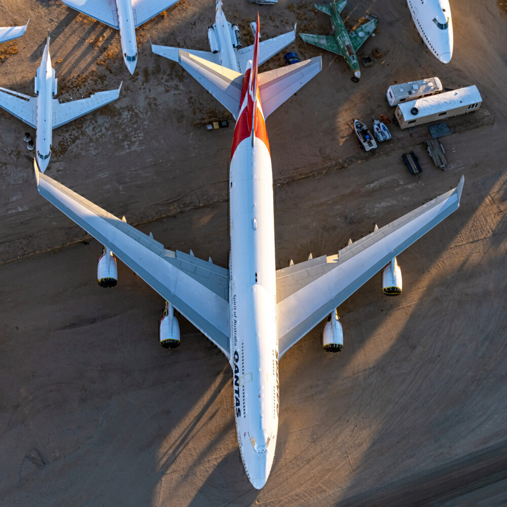 Why Unused Aircraft Are Typically Stored In The Desert
