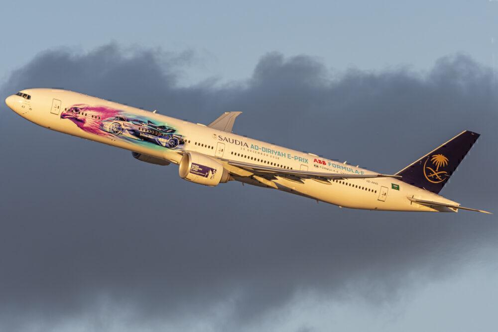 Saudia 777 New York JFK