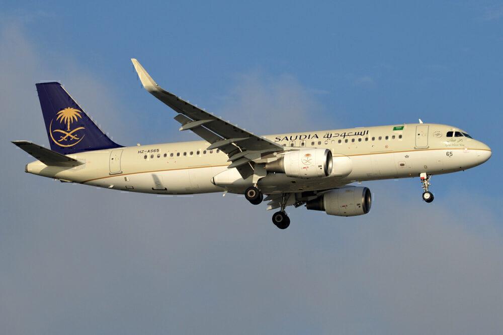A320 Saudia