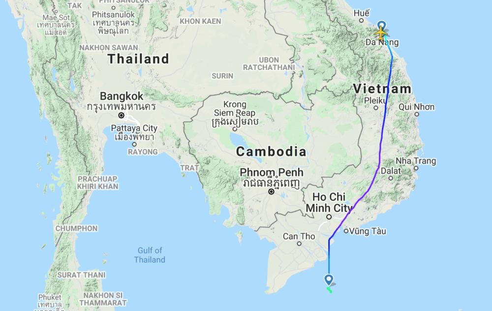 Bamboo Airways flight