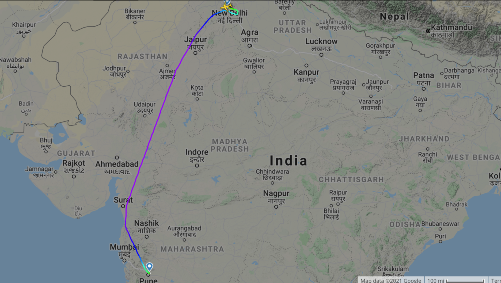 Air India 850 first vaccine