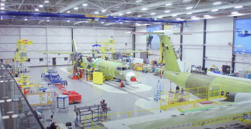 Bombardier DHC Dash 8 factory