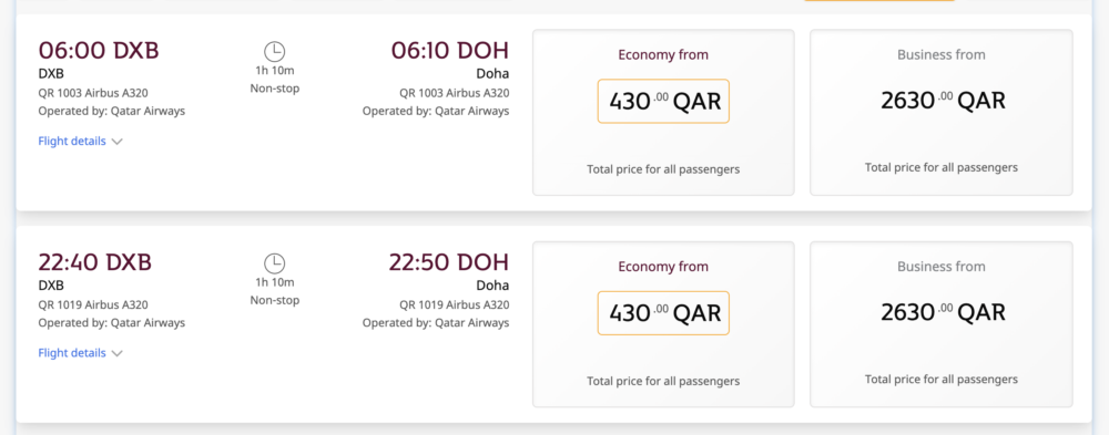 Qatar Airways Expands Post Blockade Network To Include The UAE